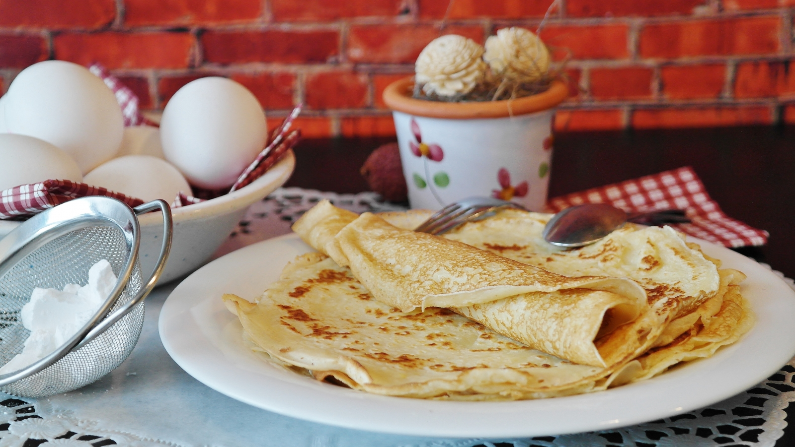 Pancakes Lunch